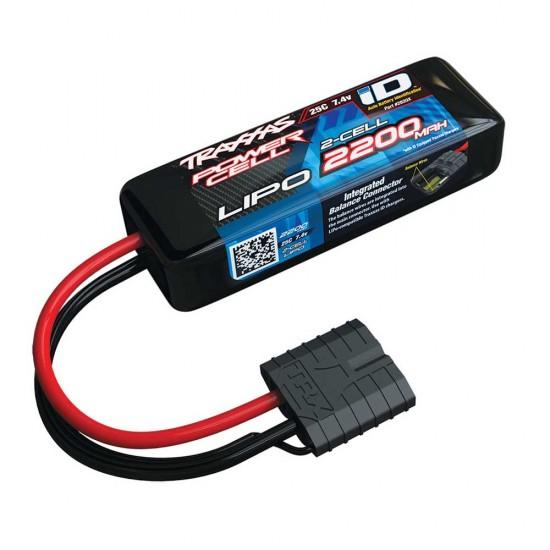 Traxxas iD Power Cell LiPo, 7.4V 2S, 2200mAh, 88mm