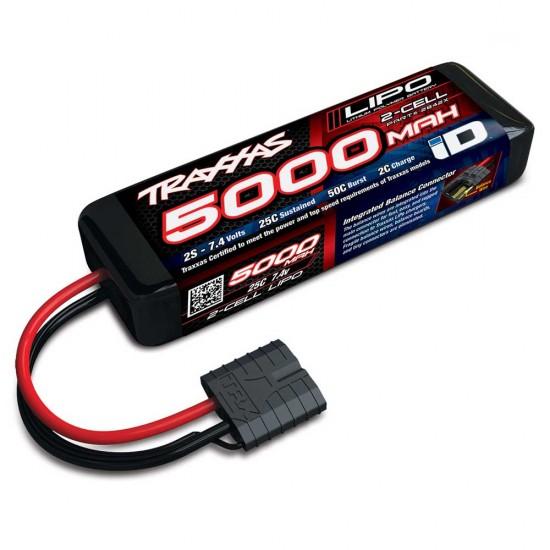 Traxxas iD Power Cell LiPo, 7.4V 2S, 5000mAh, 137mm
