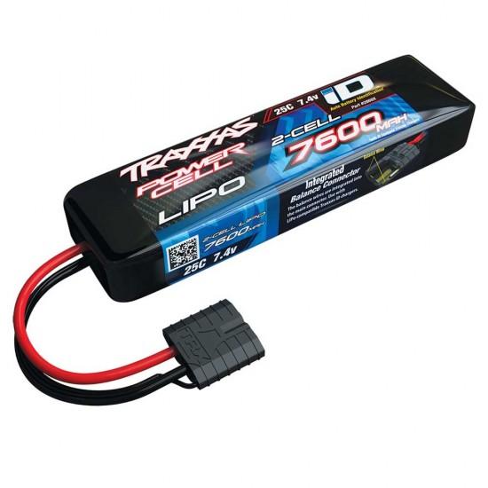 Traxxas iD Power Cell LiPo, 7.4V 2S, 7600mAh, 155mm