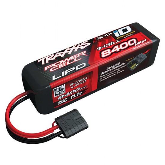 Traxxas iD Power Cell LiPo, 11.1V 3S, 8400mAh, 155mm