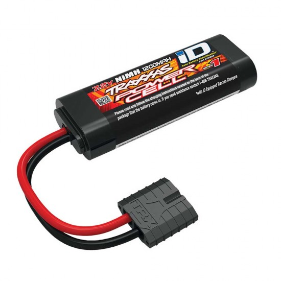 Traxxas iD Power Cell NiMH, 7.2V, 1200mAh, 6-C Flat, 88mm