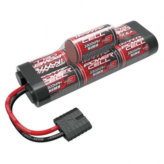 Traxxas iD Power Cell NiMH, 8.4V, 3300mAh, 7-C Hump, 135mm