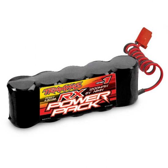 Traxxas RX Power Pack, NiMH, 6V, 1200mAh, Flat