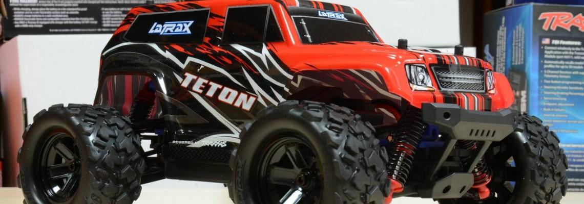 LaTrax Teton - Представяне в червен цвят