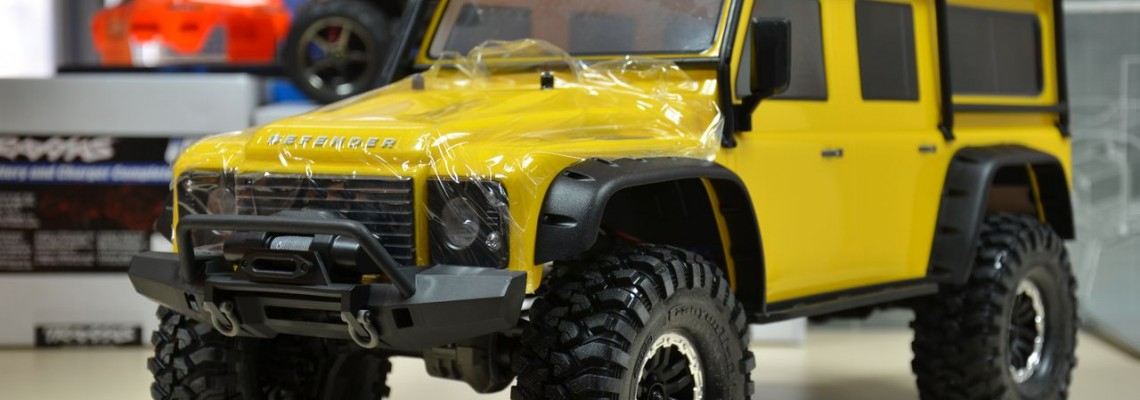 Traxxas TRX-4 Yellow - Кратък фото преглед