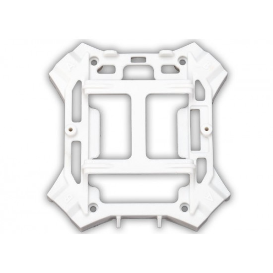 Main frame, white, lower, 1.6x5mm BCS
