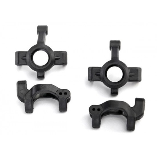 Caster blocks, c-hubs, steering block (2)