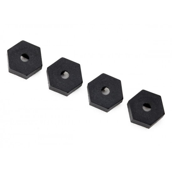 Wheel hubs, hex, 12mm (4)