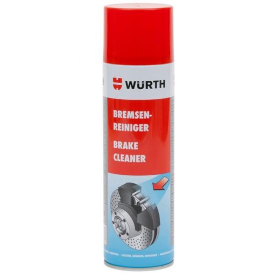 Обезмаслител за спирачки Würth, 500мл.