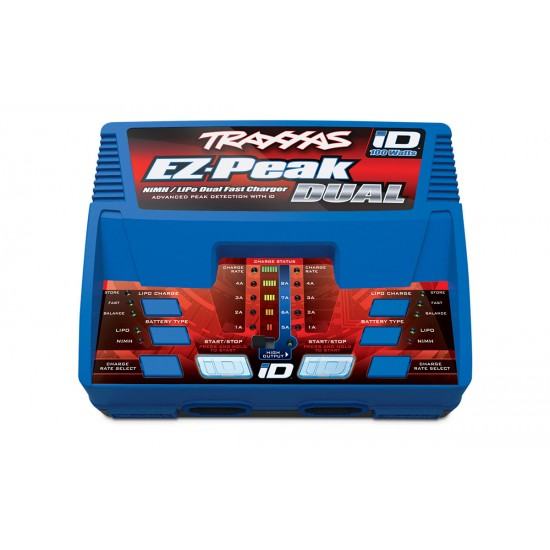 Traxxas EZ-Peak Dual, 100W, LiPo/NiMH iD, документация