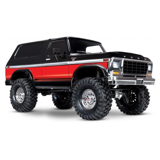 Traxxas TRX-4 Ford Bronco, 4x4, 2.4 GHz TQi, документация