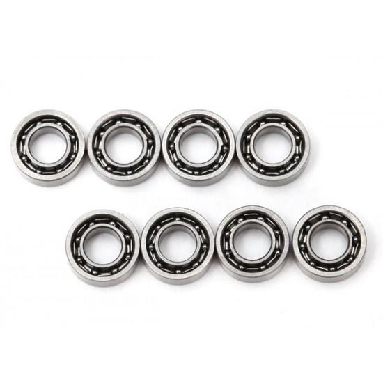 Ball bearings, 3x6x2mm (8)