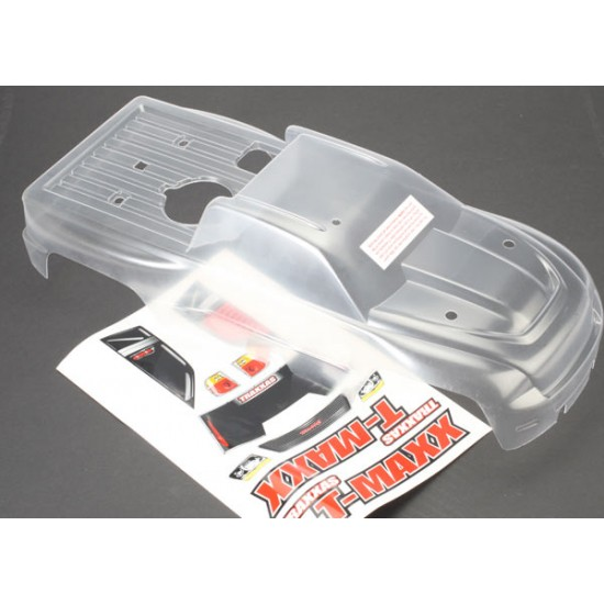Body, Traxxas T-Maxx 3.3, clear