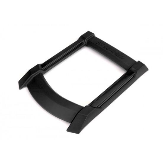 Skid plate, roof, black, Traxxas X-Maxx