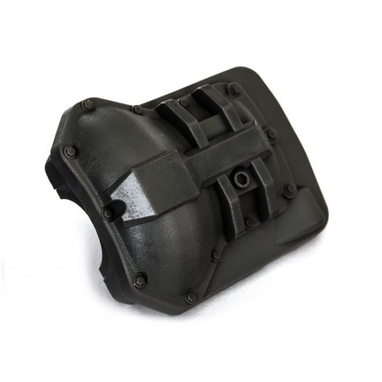 Differential cover, front or rear, black