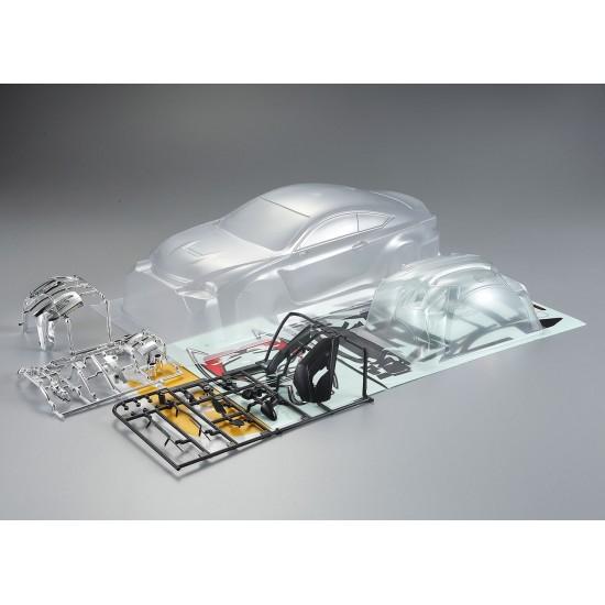 Killerbody Lexus RC body, clear kit, 195mm
