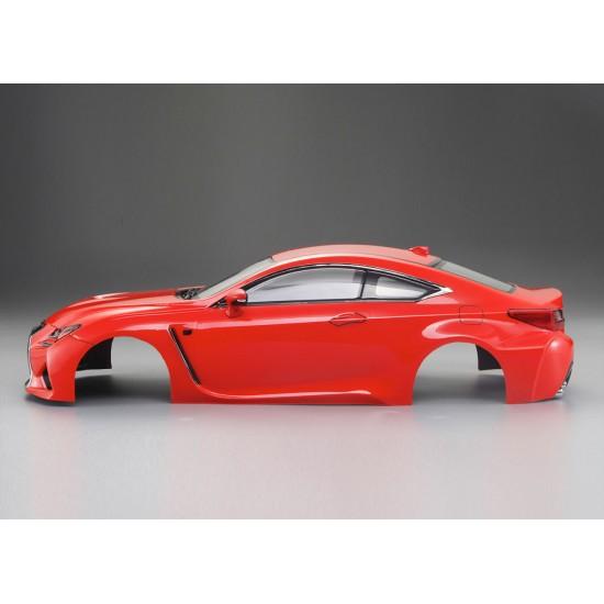 Killerbody Lexus RC body, orange, 195mm
