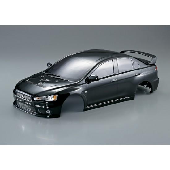 Killerbody Mitsubishi Lancer Evo X body, black, 190mm