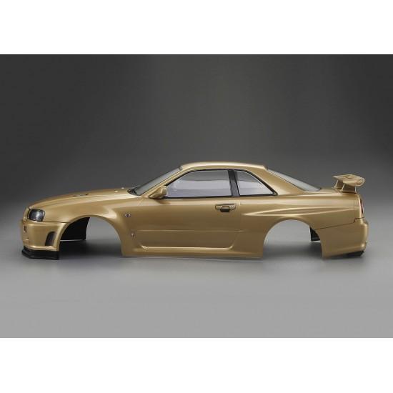 Killerbody Nissan Skyline R34 body, champagner gold, 195mm