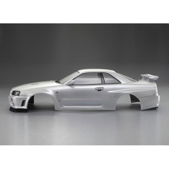 Killerbody Nissan Skyline R34 body, pearl white, 195mm