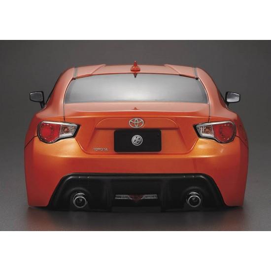 Killerbody Toyota 86 body, orange, 195mm