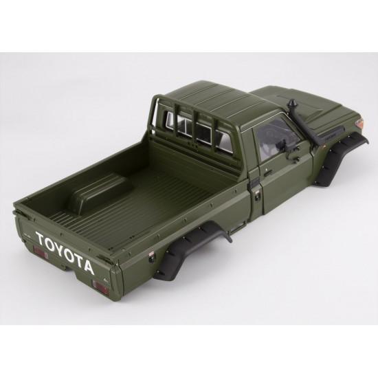 Toyota Land Cruiser 70, Kit, Military Green, 324mm, TRX-4