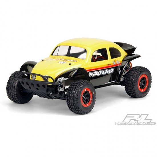 Pro-Line VW Bug clear body, Traxxas Slash 4x4