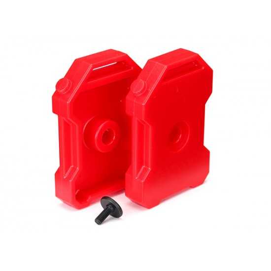 Fuel canisters, red (2)