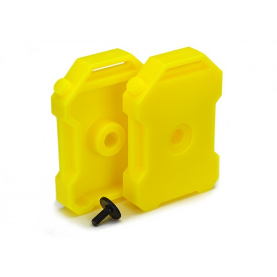 Fuel canisters, yellow (2)