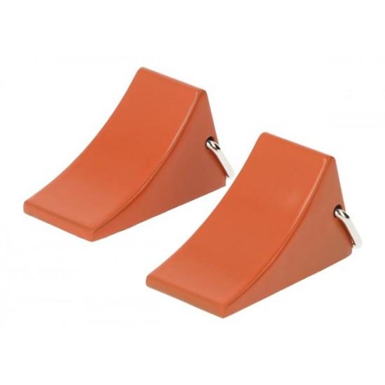 Stop blocks safety device, orange (2)