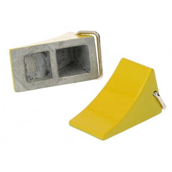 Stop blocks safety device, yellow (2)