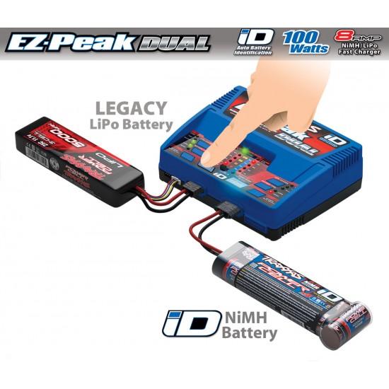 Traxxas EZ-Peak Dual, 100W, LiPo/NiMH iD
