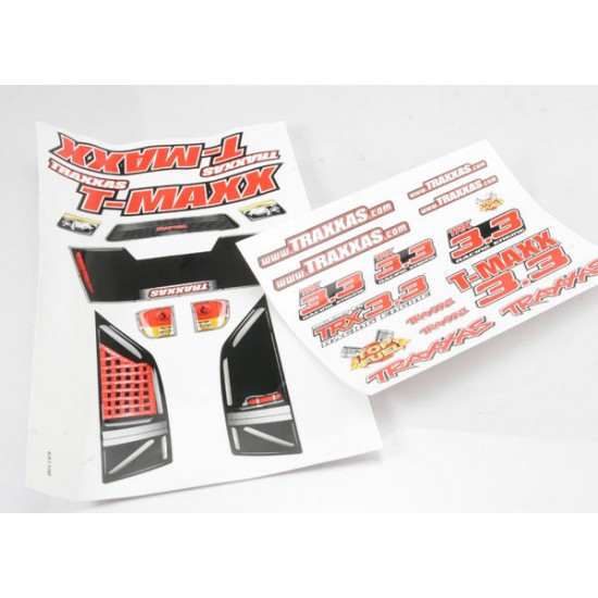 Decal set, Traxxas T-Maxx 3.3