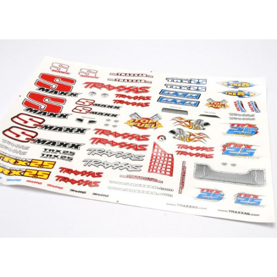 Decal set, Traxxas Stadium Maxx