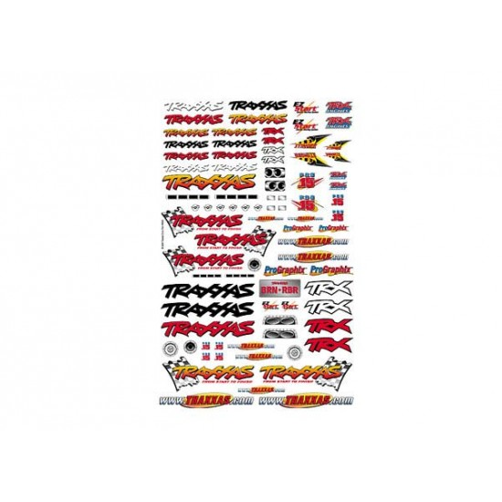 Official Team Traxxas racing decal set
