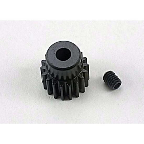 Gear, 18-T pinion (48-pitch), set screw