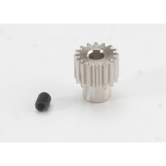 Gear, 16-T pinion (48-pitch), set screw