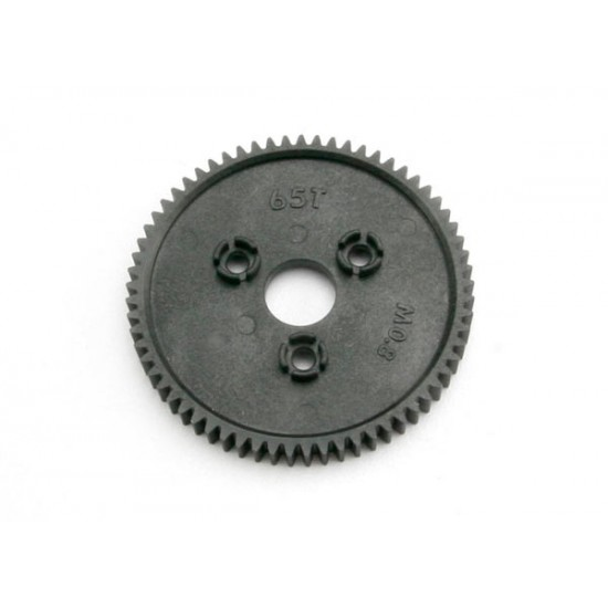 Spur gear, 65-T (0.8 metric), 32-pitch compatible