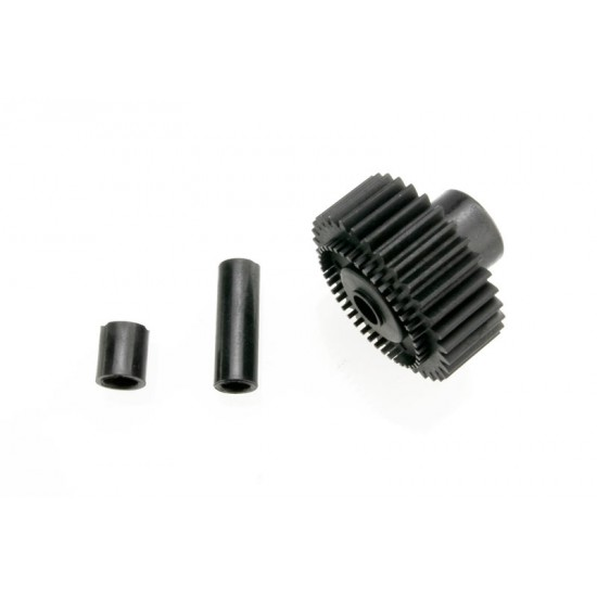 Output gear, 33-T, spacers