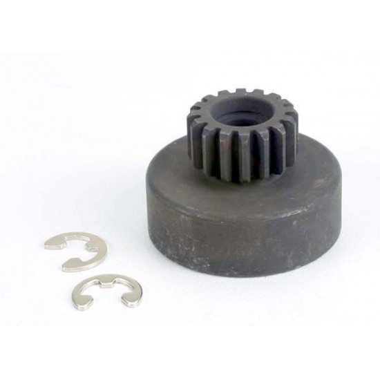 Clutch bell, 16-tooth, for 5x8x2.5mm bearing