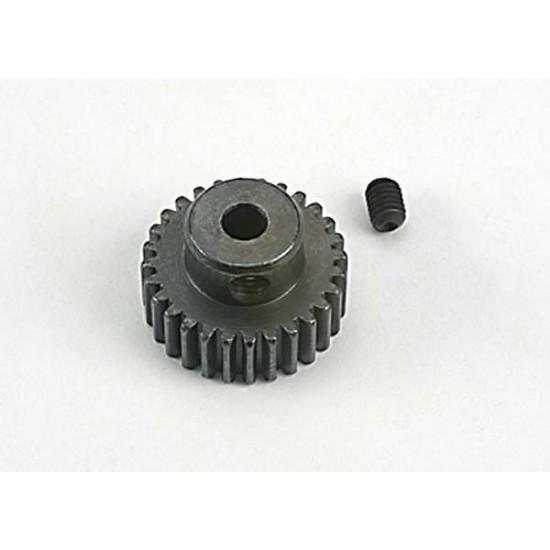 Gear, 28-T pinion (48-pitch), set screw