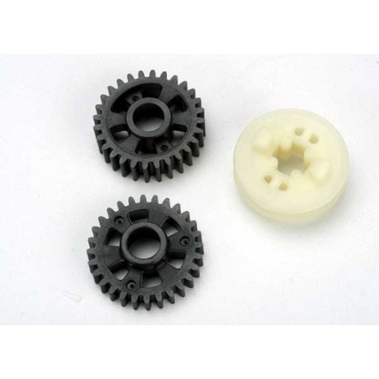 Output gears, forward and reverse, carrier