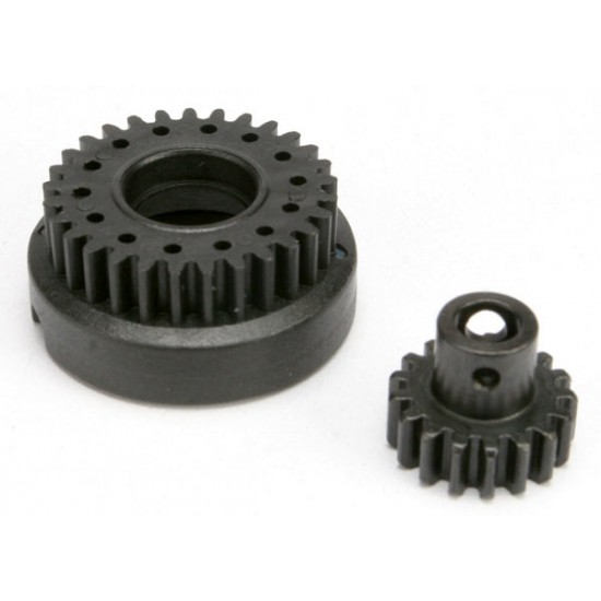 Gear set, 2-speed, 2nd speed gear 29-T, input gear 17-T