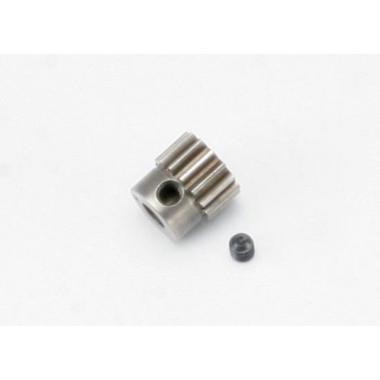 Gear, 14-T pinion (32-pitch), set screw, 5mm shaft