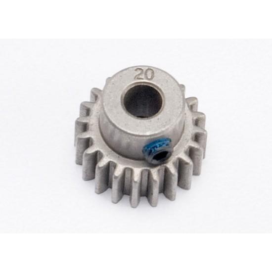Gear, 20-T pinion (32-pitch), set screw, 5mm shaft