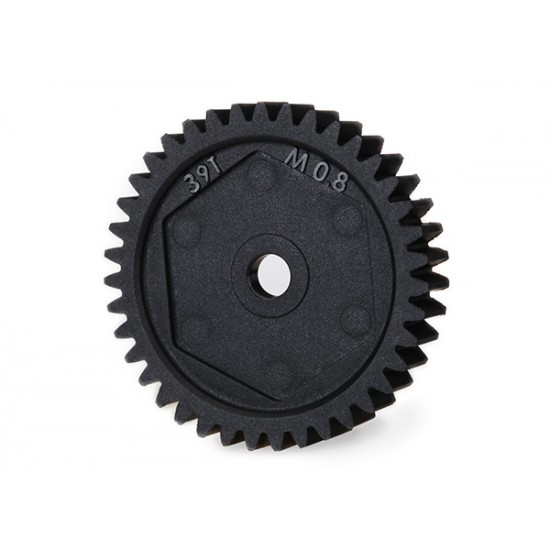 Spur gear, 39-T (0.8 metric), 32-pitch compatible