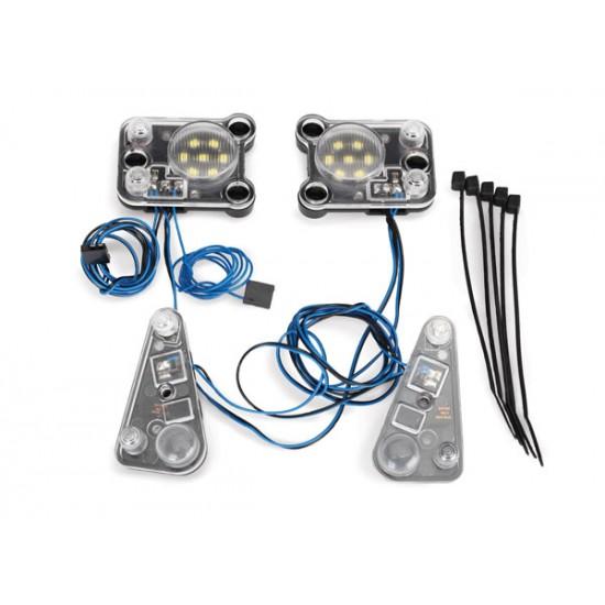 LED light kit, headlight and tail light, Traxxas TRX-4