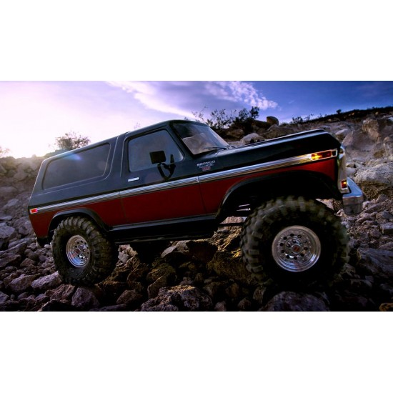 LED light kit, complete, Traxxas TRX-4 Ford Bronco
