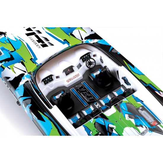 Traxxas M41 Brushless, 2.4 GHz TQi, TSM