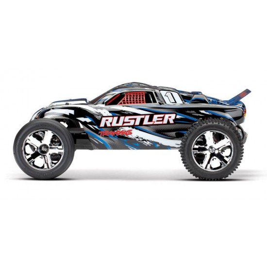 Traxxas Rustler, 2.4 GHz TQ